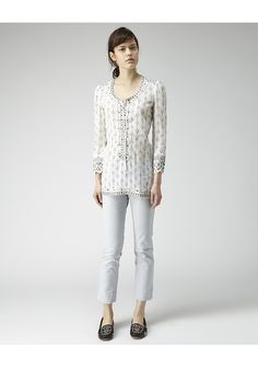 Isabel Marant / Alicia Lace-Up Top