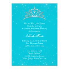 Quinceanera Princess Tiara on Turquoise Invitation This site is will advise you where to buyReview          Quinceanera Princess Tiara on Turquoise Invitation Review from Associated Store with this Deal...