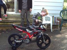 2017 Jayden and his new bike