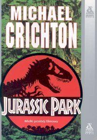 Okładka książki Jurassic Park