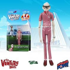 The Venture Bros. Dr. Venture 3 3/4-Inch Action Figure - Bif Bang Pow! - Venture Bros. - Action Figures at Entertainment Earth http://www.entertainmentearth.com/prodinfo.asp?number=BBP09106&id=TO-603025911