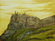 Edinburgh castle by Sheharzad-Arshad