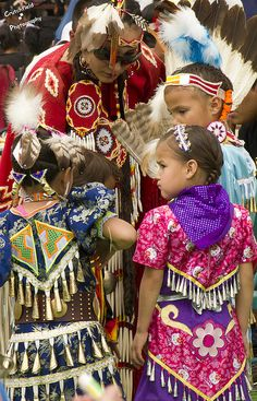 Jingle Dance Outfits | Young Jingle Dancers | Flickr - Photo Sharing!