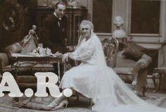 Colección de fotografía antigua: Fotógrafo Alfonso. Madrid. Retrato de boda. 1930