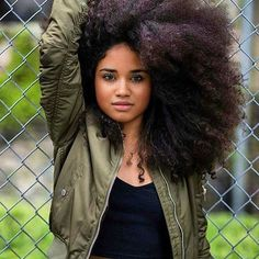European Real Human Hair Afro Kinky Curly Free Part Lace Closure Curly Hair Cuts, Curly Hair Styles, Natural Hair Styles, Frizzy Hair, Protective Hairstyles, Afro Hairstyles, Haircuts, Afro Textured Hair, Natural Hair Inspiration