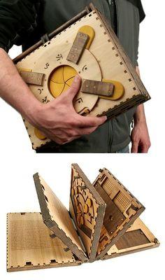 Codex Silenda Puzzle Book at werd.com