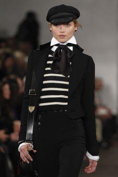 Fashion Week New York 2013, Ralph Lauren (Foto: Reuters). #newyork #fashionweek #ralphlauren www.noz.de/69611107/