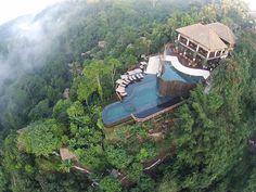PISCINAS INCRÍVEIS MUNDO AFORA | Studio Lab Decor #viagem #hotel #decoracao #decor #piscinas