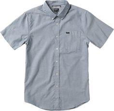 That'll Do Oxford Shirt | RVCA L, distant blue...Ryan