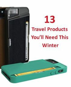 13 Travel Products You'll Need this Winter