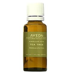 Aveda Tea Tree Oil. This works wonders on blemishes if you have oily skin! Dab some on the blemish/zit.