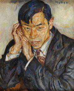 Mela (Maria Melania) Muter (Mutermilch) - Portret chińskiego poety Cheng Tcheng (??) (1899 - 1996)