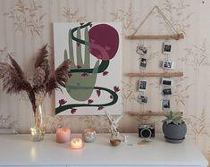 Driftwood wall art eco-friendly decor trible wall art | Etsy Boho Bedroom Decor, Nursery Wall Decor, Baby Room Decor, Boho Decor, Bedroom Wall, Rustic Decor, Boho Room, Bedroom Ideas, Driftwood Wall Art