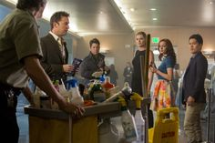 The Librarians Ep. 207  Review by Scott Patrick Green  11-24-2015 >  http://wordofthenerdonline.com/2015/11/tv-review-librarians-s02e05-hollow-men/