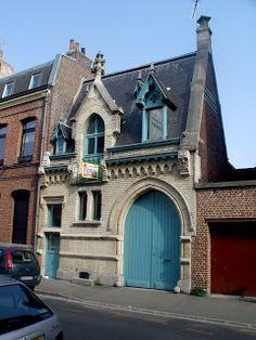 Lille, l'art nouveau et l'art déco: Lille centre, boulevard Jean-Baptiste Lebas