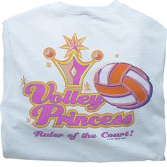 Tandem Volley Princess T-Shirt at Volleyball.Com