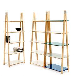 Bücherregal als Raumteiler