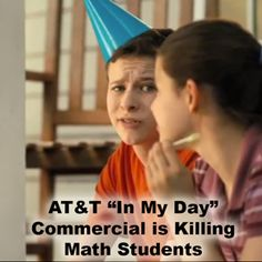AT&T should consider where they'll need these students before they help to destroy their engagement, problem solving and creativity in math.