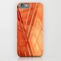 iPhone & iPod Case pattern orange abstract by Christine Baessler