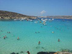 Blue Lagoon, Comino, #Malta @FabMac89