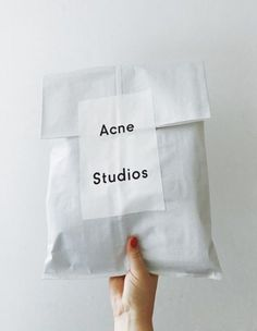 34 Ideas Design Packaging Fashion Acne Studios #fashion #design