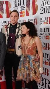 Regine Chassagne and  Win Butler of Arcade Fire at the Brit awards.