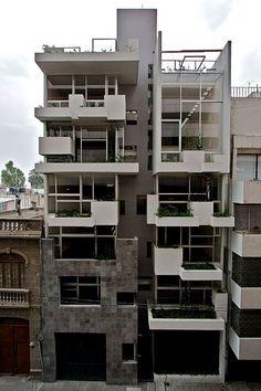 ARQUIMASTER.com.ar | Proyecto: Edificio vivienda multifamiliar Río Papaloapan 15 (Cuauhtémoc, México DF) - Taller 13 arqs. | Web de arquitectura y diseño