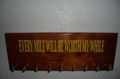 Race Medal Display by HobbywoodCreations on Etsy