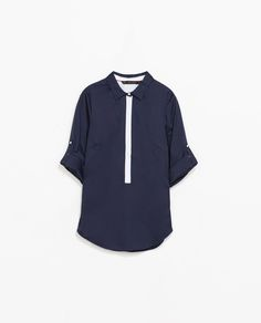 Image 6 of COMBINED SHIRT from Zara