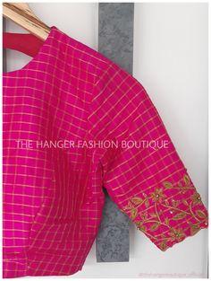 Blouse Designs Silk, Bridal Blouse Designs, Blouse Patterns, Blouse Desings, Stylish Blouse Design, Embroidery On Clothes, Salwar Designs, Traditional Fashion, Work Blouse
