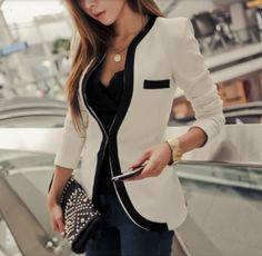 Womens Casual Slim Fit Blazer