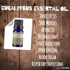 Plant based  Eucalyptus  Neal's yard remedies  Organic  NYR  Essential oils