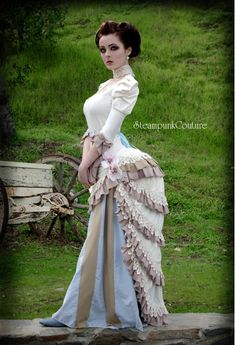 Steampunk with bustle