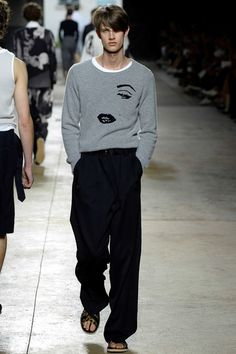 Rad tribute to Marilyn Monroe by DRIES VAN NOTEN during Men's Fashion Week and more — JOLIEGAZETTE