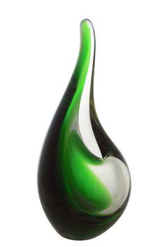 A 1950s Per Lütken for Holmegaard 'Orchid' Vase