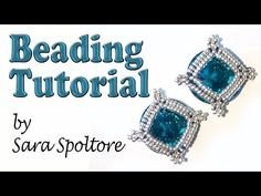 BeadsFriends: beading tutorial - DIY earring or bracelet - How to make beaded jewelry - YouTube