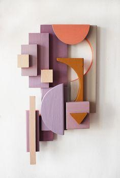 28 x 49 sunset. Carved Wood Wall Art, 3d Wall Art, Abstract Sculpture, Sculpture Art, Jewel Tone Decor, Art Optical, Wire Art, Wall Sculptures, Geometric Shapes