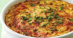 Easy ham and zucchini quiche Skewer Recipes, Wine Recipes, Potato Recipes, Chicken Recipes, Pear Tarte Tatin, Sour Cream Pancakes, Quiche Dish, Tomato Pie, Best Street Food