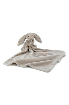 http://www.babytoys6months.com/category/jellycat/ Jellycat 'Bunny Soother' Blanket available at #Nordstrom