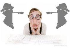 Vorsicht Datenklau durch Cyber-Betrüger. Da sieht die Realität plötzlich anders aus...