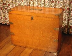 Sir Edwin Landseer Antique Campaign Chest