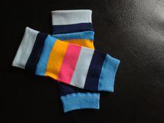 baby legs from woman socks