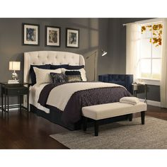 Republic Archer Ivory Headboard-Bench Collection (Ivory 52 inch Bench Only) Cream, Size Full - Queen