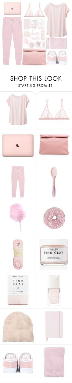 """Bring the Popcorn: Movie Night"" by deserii ❤ liked on Polyvore featuring Uniqlo, La Perla, Marie Turnor, Sincerely, Jules, Disney, Oysho, Herbivore, Christian Dior, Monki and Kate Spade"