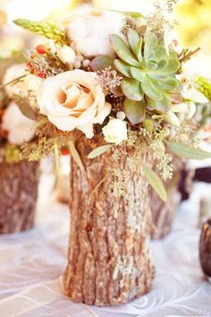 top-14-easy-wood-log-centerpiece-designs-unique-wedding-day-decor-project (12)