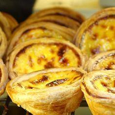 Portugiesische Pudding-Törtchen selbstgemacht