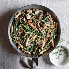 Healthy Grilled Asparagus with Caper Vinaigrette Recipe