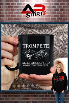 Tasse: Musiker Trompete...    Hier erhältlich: https://www.shirtee.de/actrompetebegleit <<<<     Sicherer Zahlungsverkehr     Qualitativ hochwertige Textilien     Versand aus Deutschland Weitere Designs im Shop:  http://musiker.shirtee.de  <<<<<<