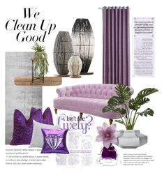 """""""Clean up"""" by mela-at-munich ❤ liked on Polyvore featuring interior, interiors, interior design, home, home decor, interior decorating, Designers Guild, Kate Spade, Agraria and springcleaning"""