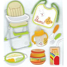 Jolees Boutique® | Feeding Time Stickers